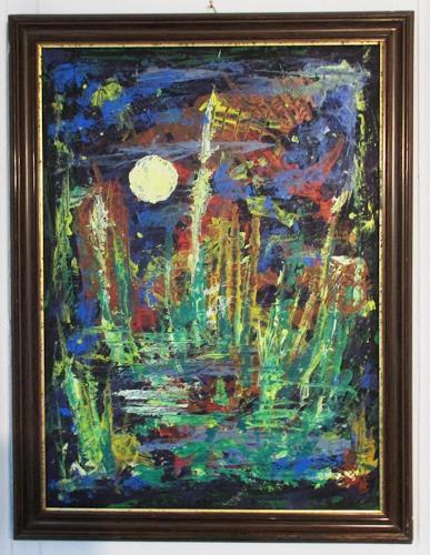 Rudolf Olgiati, Ohne Titel, Fantasy, Abstract art, Abstract Art