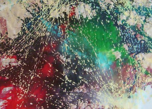Gita Khezri, N/T, Abstract art