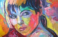 Eduard-Fleminsky-People-Portraits-Abstract-art-Modern-Age-Impressionism