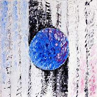 Picchio, White-blue moon